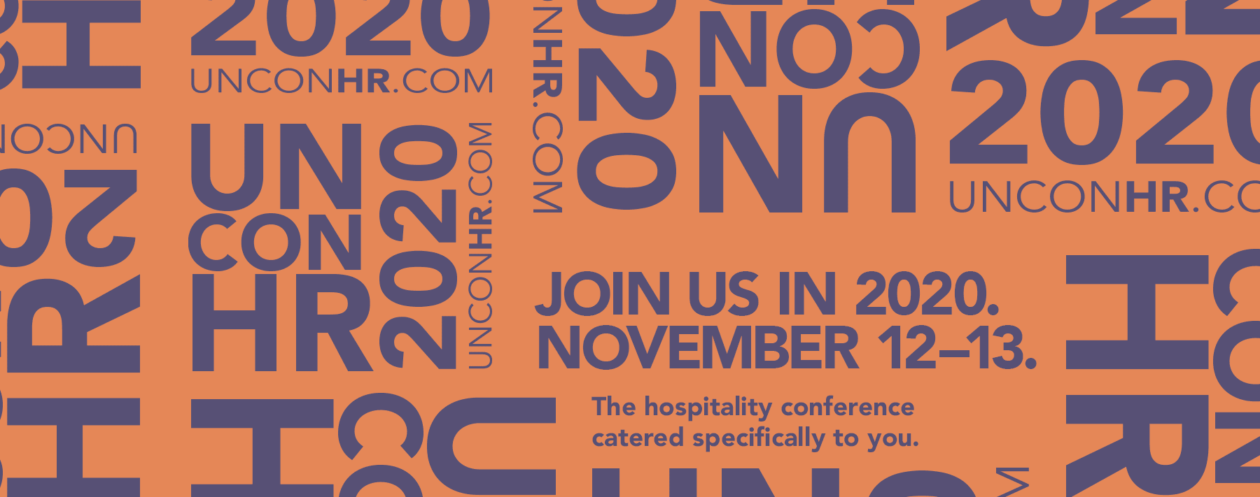 Join us in 2020.November 12–13.